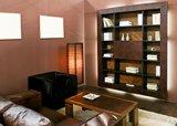 Regály do obývacího pokoje