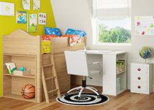 Dětské židle k psacímu stolu