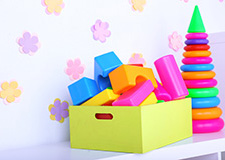 Krabice a boxy do dětského pokoje